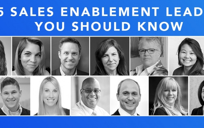 Sales Enablement Leaders You Should Know